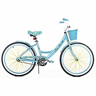 "Kent 24"" Girls', La Jolla Cruiser Bike, Light Blue, For Ages 12 and Up: Toys & Games"