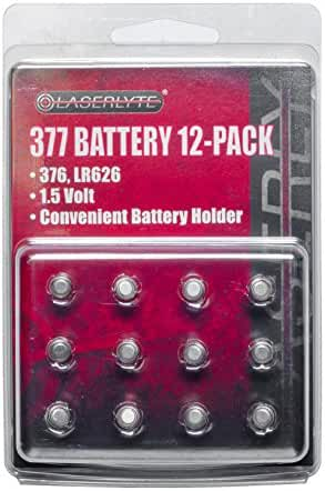 LaserLyte 377 Battery 12 Pack