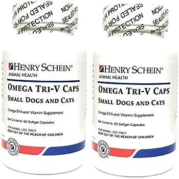 Amazon Com Butler Schein Omega Tri V Supplement For Cats