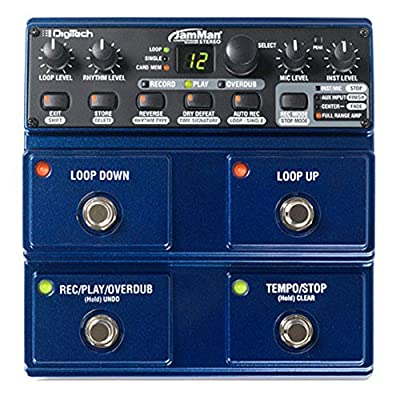DigiTech Stereo Looper Delay Pedal