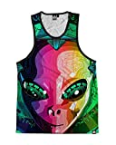 INTO THE AM Alien Visitor Premium All Over Print Tank Top