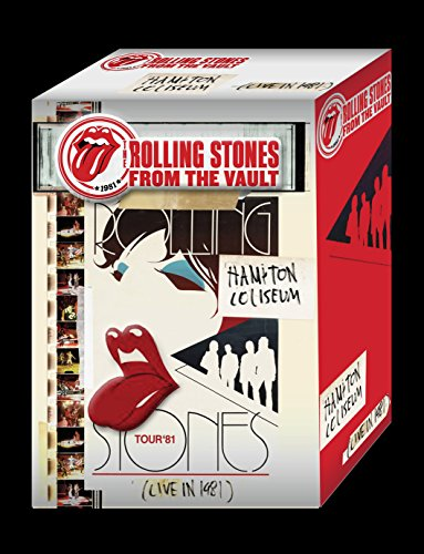 The Rolling Stones - From The Vault Hampton Coliseum Live In 1981 +T-shirt (White / Size: M) (BD+2CDS) [Japan LTD BD] VQXD-10097