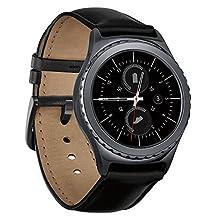 Samsung Gear S2 Classic Smartwatch with Heart Rate Monitor Wi-Fi, Bluetooth Black SM-R732 SM-R7320ZKAXAC