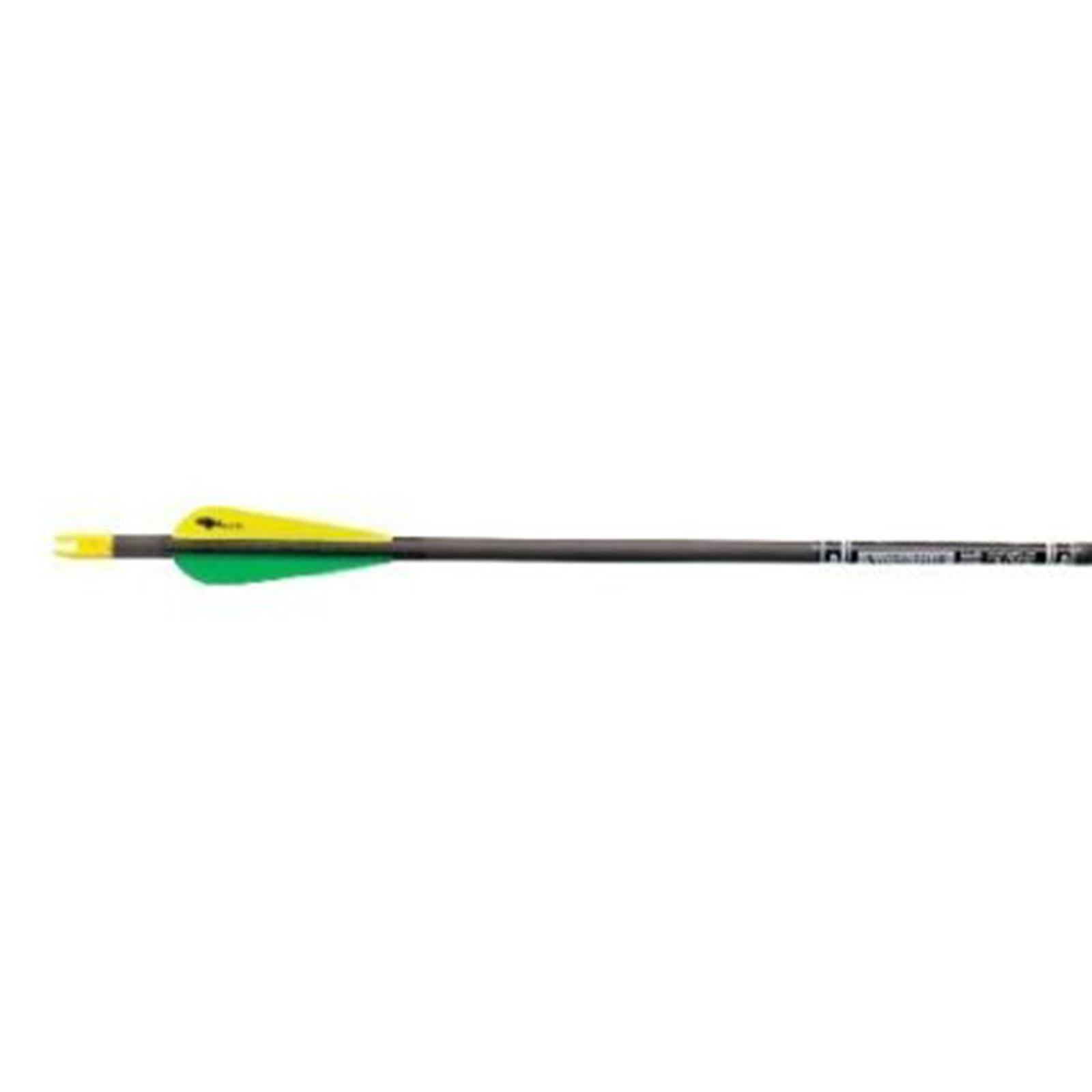 Gold Tip Youth Lightning Arrows with 2.5-Inch Vanes (72 Count)