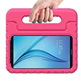 Samsung Galaxy Tab 3 Lite Case,Y&M(TM)Shockproof Case Light Weight Kids Case Super Protection Cover Handle Stand Case for Kids Children for Samsung Galaxy Tab E T110 T113(2016) 7 inch (Rose)
