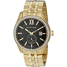 Wittnauer Men's WN3032 22mm Stainless Steel Gold Watch