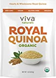 Viva Naturals - The FINEST Organic Quinoa, 100% Royal Bolivian Whole Grain, 1 LB Bag