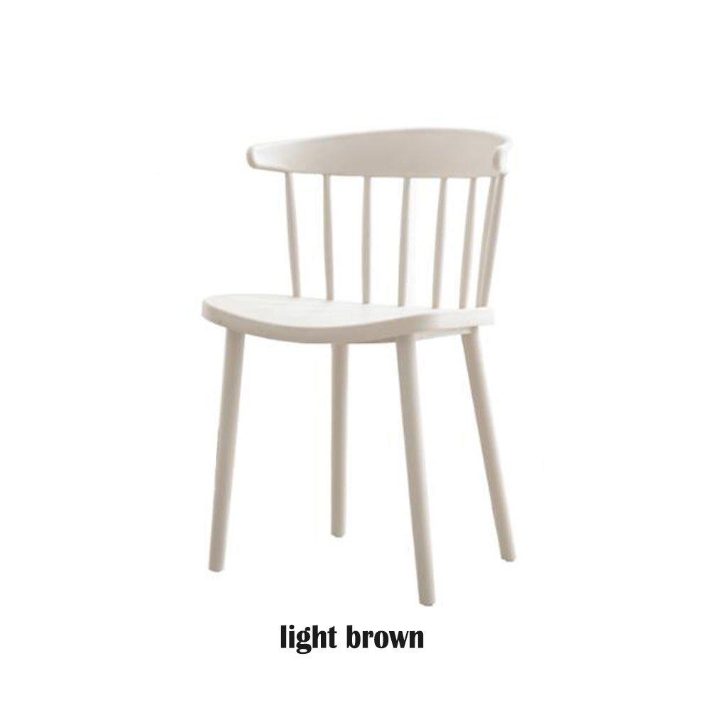 Amazon.com: KXBYMX Silla de respaldo nórdica, silla de ocio ...