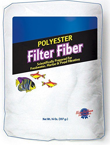 Blue Ribbon Pet Products Ablply14 Polyester Floss Bag Filter Media, 14-Ounce by BLUE RIBBON PET PRODUCTS ()