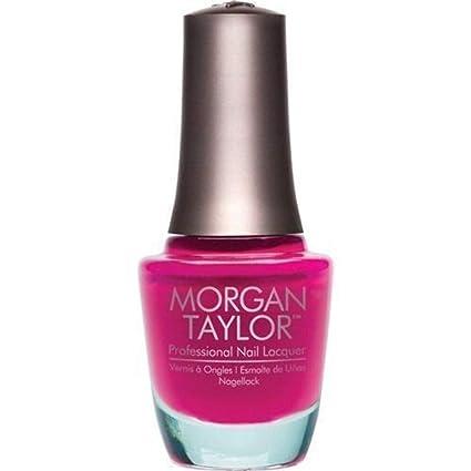 Morgan Taylor Nail Polish Pop Arazzi Pose 0 5 Ounce