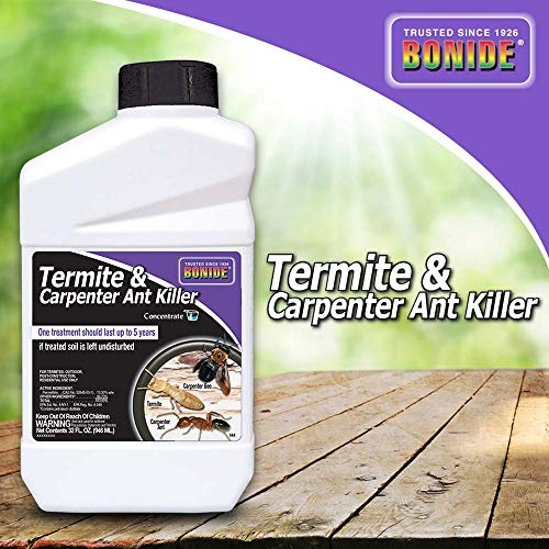 Bonide (BND568) - Termite and Carpenter Ant Killer, Insecticide/Pesticide Concentrate (32 oz.)