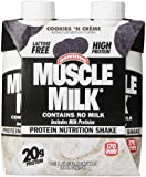 CytoSport Muscle Milk Ready-to-Drink Shake, Cookies and Creme, 11 Ounce Boxes in 4-Count Packages (Pack of 6)
