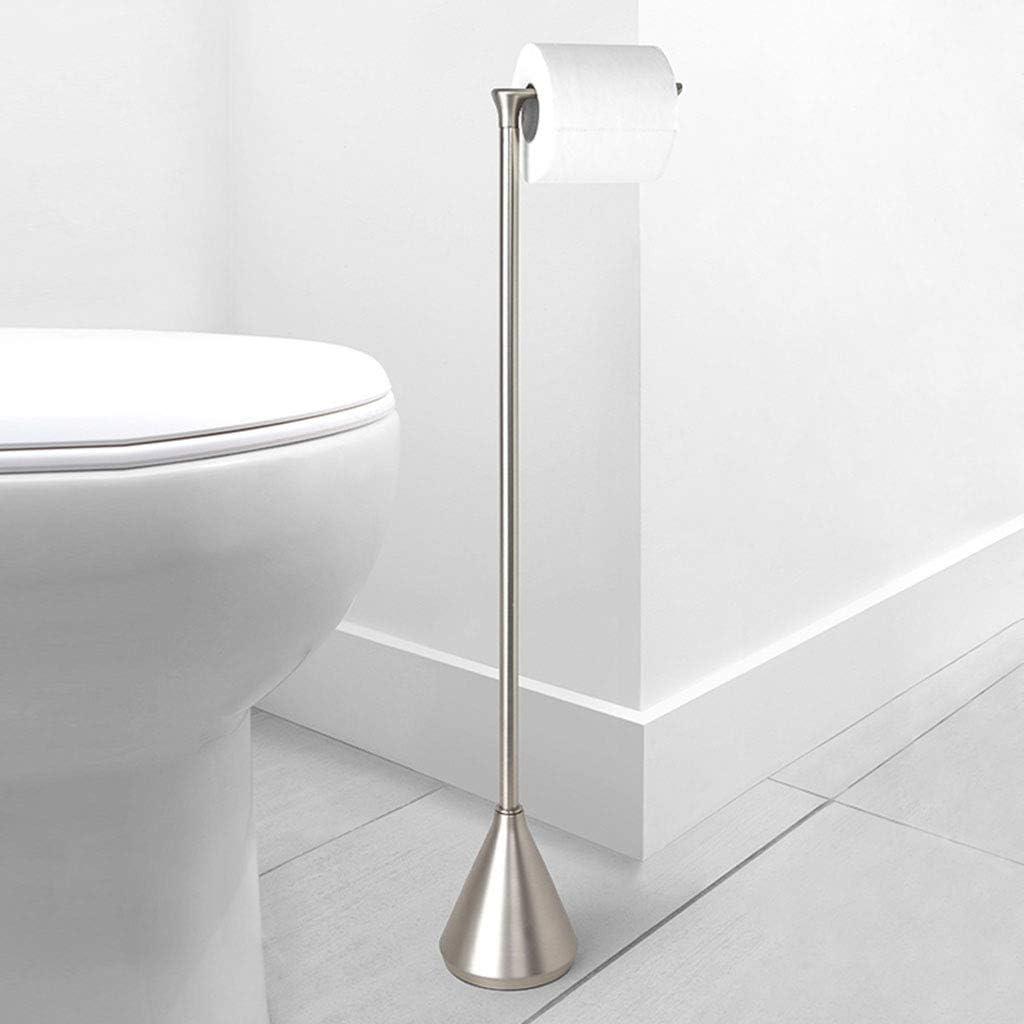 Toilettenpapierhalter Stehend Wc Klopapierrollenhalter Bad Seitenschrank Weiss Ebay