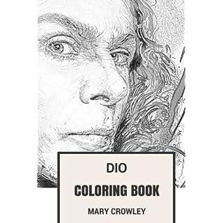 Dio Coloring Book Ex Black Sabbath And Heavy Metal Godfather Teacher Devilish God
