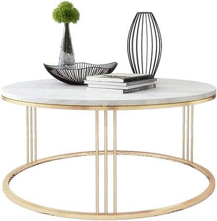 Marmor Runder Tisch Wohnzimmer Eisen Couchtisch Rund Sofa Tisch