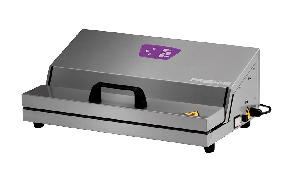 Acciaio Inossidabile 50 W Besser Vacuum AIE1AG043002AAA0822A Fresh 43 Macchina Sottovuoto 20 Litri