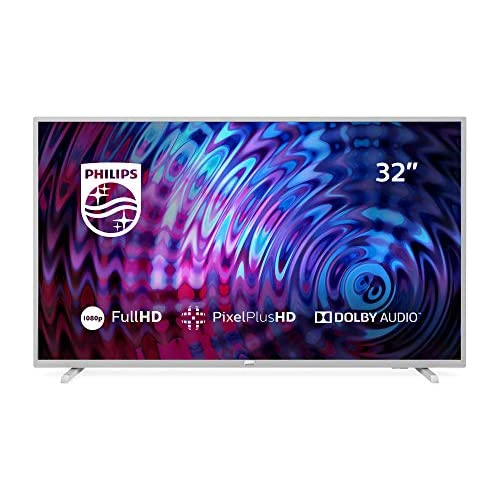 chollos oferta descuentos barato Philips 32PFS5823 Televisor con Tecnología LED Full HD Pixel Plus HD Dolby Audio Smart TV y HDMI USB 32