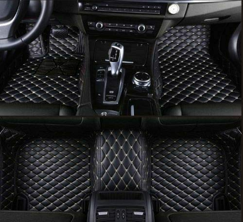 hansheng Car Floor Mats Carpets Custom Luxury FloorLiner Auto Mats All Weather 3D Protector Car Floor Mats for Lexus ES350 ES300h 2007-2018 ()