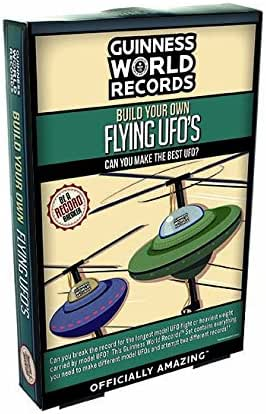 Guinness World Records Build Your Own Flying UFOs by Guinness World Records: Amazon.es: Juguetes y juegos