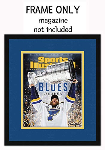 Sports Illustrated Magazine Frame - with St Louis Blues Colors Double ()