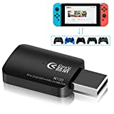 IVSO Controller Converter for Nintendo Switch, XBOX 360/XBOX ONE/ PS3/PS4 Controllers Compatible with Nintendo Switch(Support TV HandHold Model) with Type-C OTG Adapter Cable