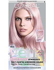 L'Oréal Paris Feria Pastels Hair Color, P2 Rosy Blush (Smokey Pink)