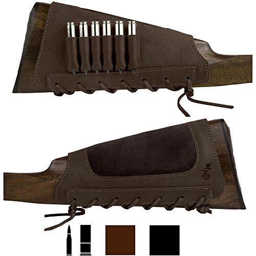 Leather shotgun shell holder
