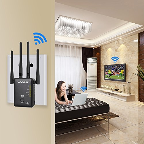 Wavlink Ac1200 Wifi Range Extender Access Point Wireless