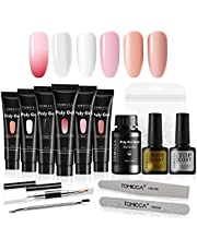 TOMICCA Polygel Nail Kit Poly Gel UV Builder Gel Nail Extension