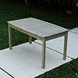 Best Outdoor Coffee Tables - Cambridge-Casual 170267 West Lake Coffee Table, Weathered Grey Review