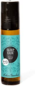 Edens Garden Sleep Ease Essential Oil Synergy Blend, 100% Pure Therapeutic Grade (Pre-Diluted & Ready To Use- Sleep & Skin Care) 10 ml Roll-On
