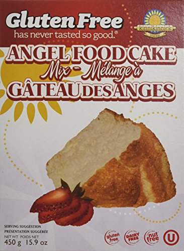 Kinnikinnick Gluten Free Angel Food Cake Mix, 16 oz