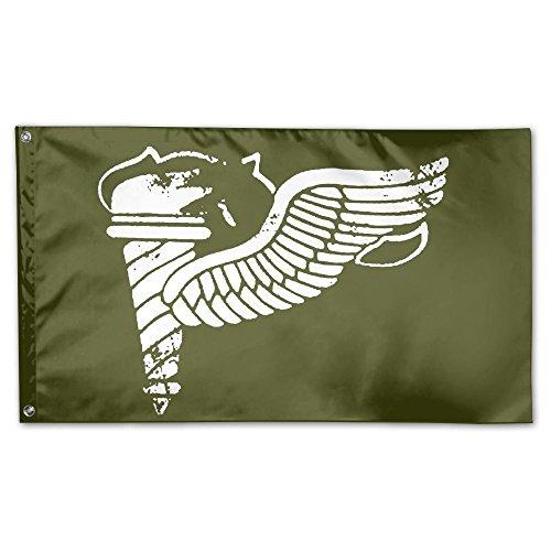 Vintage Army Pathfinder Badge Subdued Veteran 100% Polyester House Flag Decorative Garden Flag Yard Banner Garden Flags 3x5