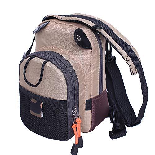 Kylebooker Small Fly Fishing Chest Pack Lightweight Waist Bag