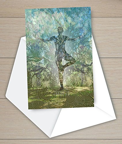 ANCIENT OAK TREE YOGA NOTE CARDS