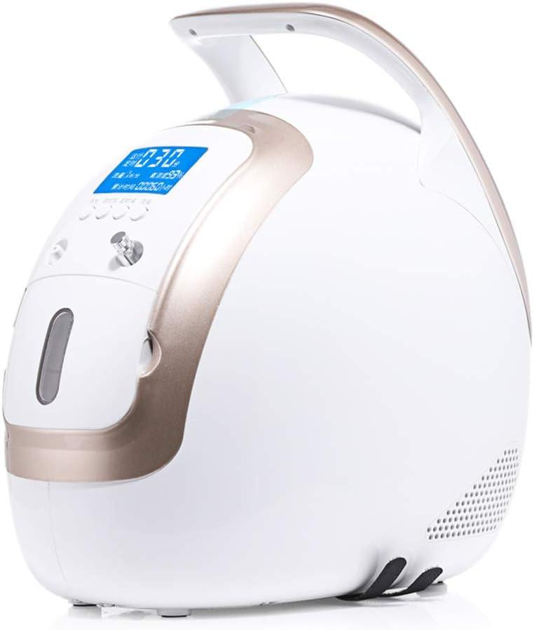 Machine /à oxyg/ène Portable /à Domicile pour Les Personnes /âg/ées oxyg/énateur r/églable pour Femmes Enceintes LLQ Concentrateur doxyg/ène avec Fonction datomisation
