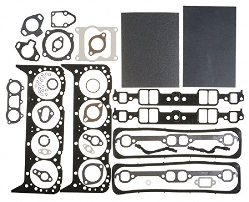 MAHLE Cylinder Head Gasket Set compatible with MERCRUISER CHEVY MARINE 350 5.7 w/center bolt (5.7L Marine) ()