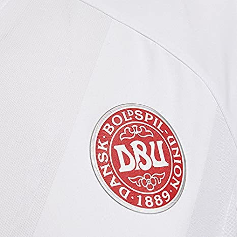 Hummel Sport Hummel Danish National Soccer Team Short Sleeve Away Jersey