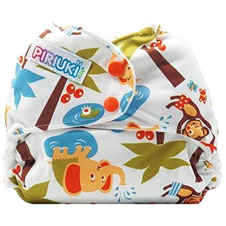 Pañal de tela fácil de usar, de la marca Piriuki, (talla universal,