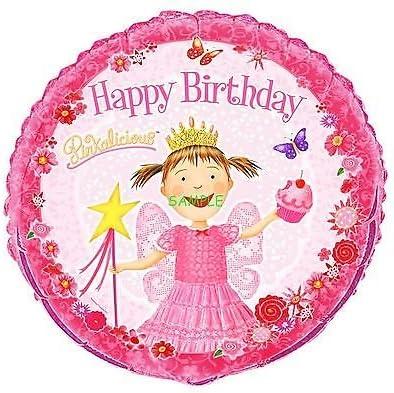 Fabulous Amazon Com Sdore Pinkalicious 8 Round Edible Birthday Cake Birthday Cards Printable Benkemecafe Filternl