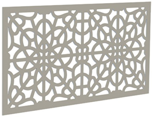 YardSmart 73004787 Decorative Screen Panel 2X4-Fretwork, Clay