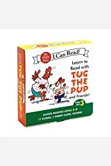 Learn to Read with Tug the Pup and Friends! Box Set 3: Levels Included: E-G (My Very First I Can Read) Paperback