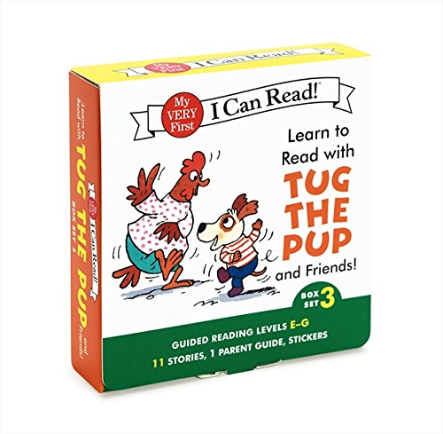 (Learn to Read with Tug the Pup and Friends! Box Set 3: Levels Included: E-G (My Very First I Can Read))