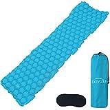 Best Lightweight Sleeping Pads - Dryzle Inflatable Lightweight Sleeping Pad - Compact Bed Review