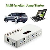Higoo(TM) 18000mAh Multi-Function Car Jump Starter Emergency Auto Start Power Source & Power Bank for Cellphone Tablet Laptop