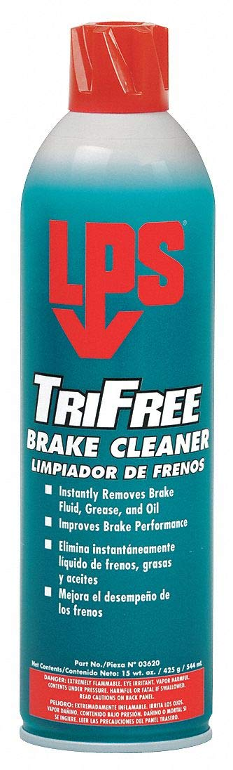LPS Brake Cleaner and Degreaser;Aerosol Can;20 oz;Flammable;Non Chlorinated Clear 03620-1 Each