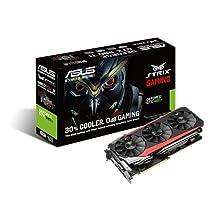 ASUS GeForce 6GB 384-Bit GDDR5 Graphics Cards STRIX-GTX980TI-DC3-6GD5-GAMING by Asus