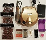 Beauties Factory Professional Nail Salon Home Use Electric Nail File Drill Manicure Set