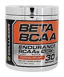Cellucor Beta Bcaa 30 Servings, Tropical Splash, 9.6 Ounce