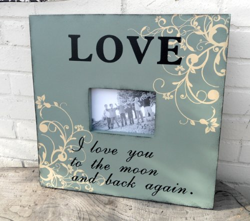 Photo Frame Large Wooden Love Photo Frame I Love You To The